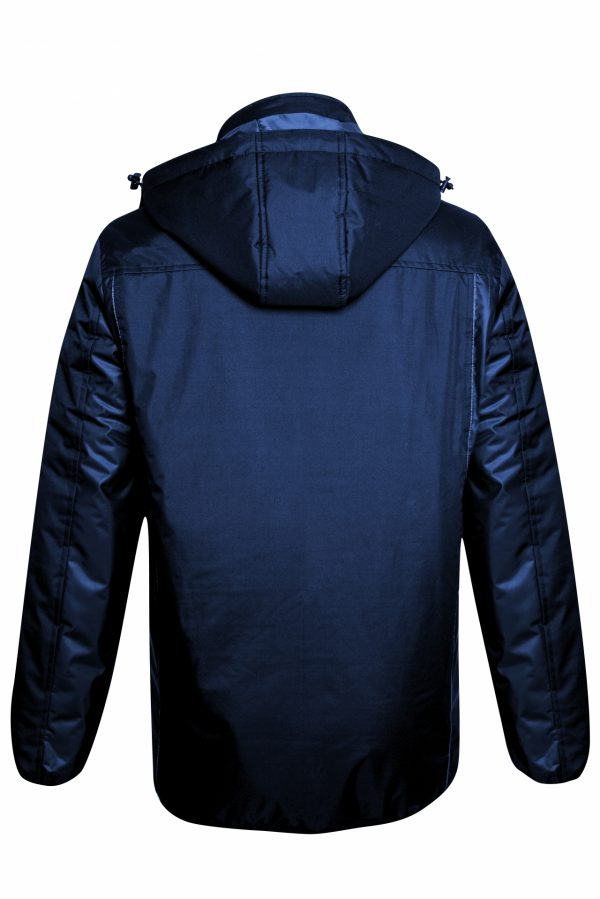 BELATRIX Winter Jacket, Blue, Back View