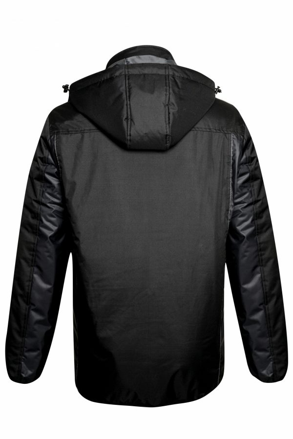 BELATRIX Winter Jacket, Black, Back View