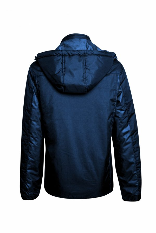 BELATRIX Woman Winter Jacket, Blue, Back View