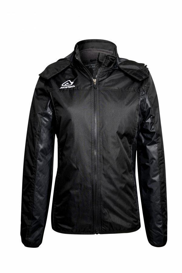 BELATRIX Woman Winter Jacket, Black, Front View