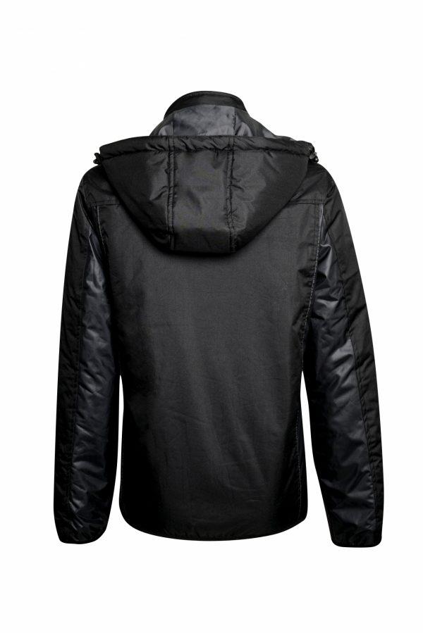 BELATRIX Woman Winter Jacket, Black, Back View