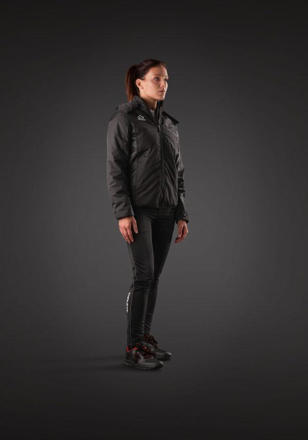 Woman wearing BELATRIX Woman Winter Jacket, Black