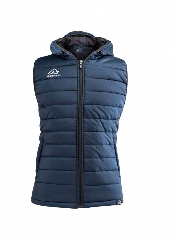 ARTAX Padding Vest, Blue, Front View