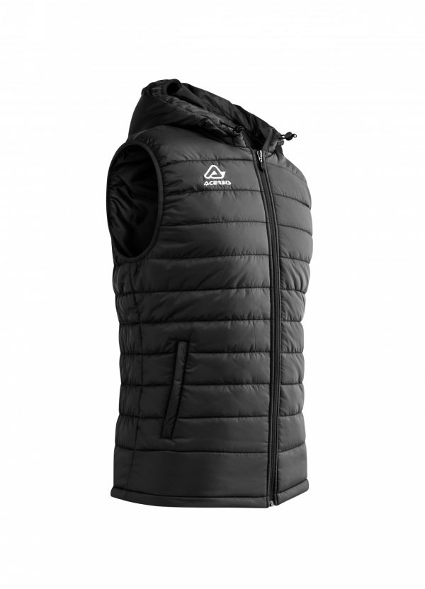 ARTAX Padding Vest, Black, Side View