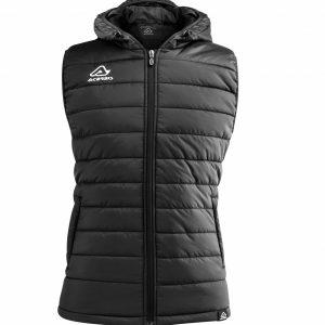 ARTAX Padding Vest, Black, Front View